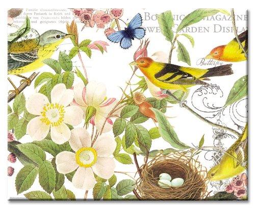 CounterArt Botanical Birds Cutting Inches