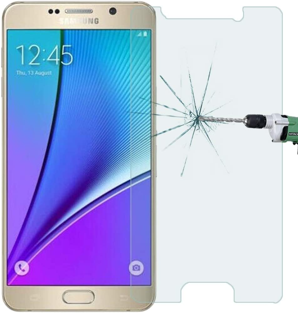 N920 Screen Tempered Glass Film CHENNAN 100 PCS 0.26mm 9H Surface Hardness 2.5D Explosion-Proof Tempered Glass Film for Galaxy Note 5
