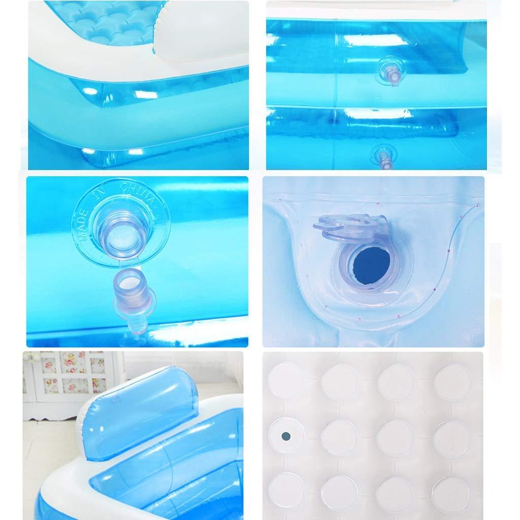 f7b0a53be ... Mingteng Bañera Inflable, Piscina portátil, bañera Inflable para niños  (Color (Color ...