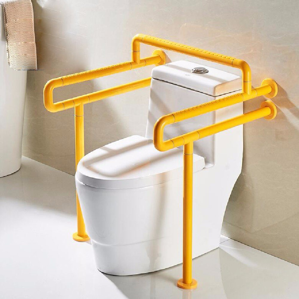 HQLCX Handrail Barrier Free Handrail For The Elderly,Yellow