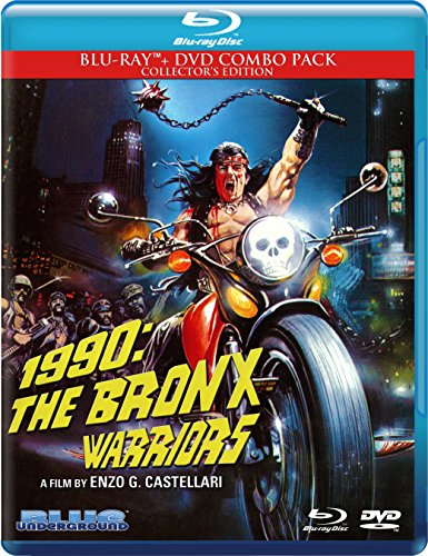 Blu-ray : 1990: The Bronx Warriors (With DVD, Collector's Edition, 2 Disc)
