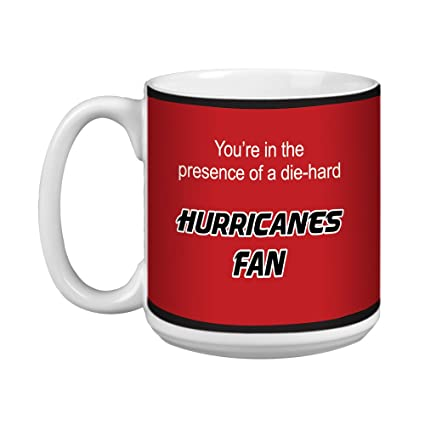 20-Ounce Tree-Free Greetings XM28185 Devils Hockey Fan Artful Jumbo Mug
