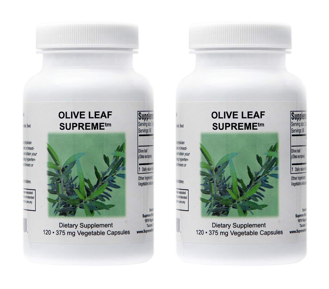 Olive Leaf Supreme – 120 Capsules 2 Pack