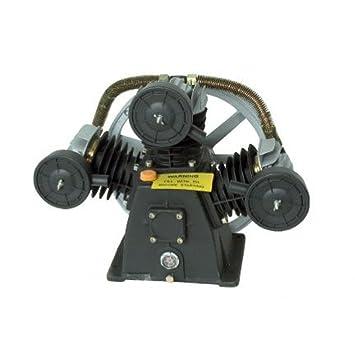 Sodisair Cabezal compresor de 4 CV y 5,5 CV en V Hierro Fundido: Amazon.es: Hogar