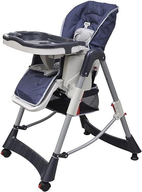 vidaXL Trona Altura Ajustable Para Alimentación Bebés ...