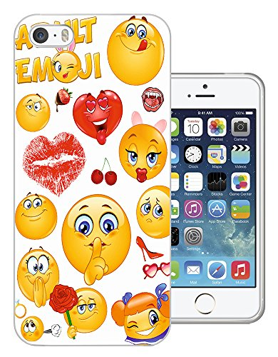 901 - Adult Cool Smiley Faces Emoji Funky Design iphone 5C Fashion Trend Protecteur Coque Gel Rubber Silicone protection Case Coque