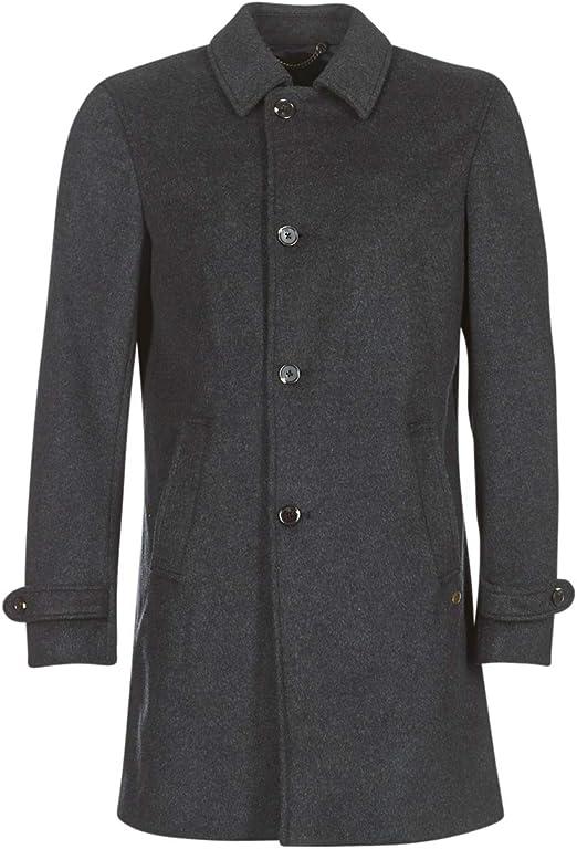 TALLA L. Scotch & Soda Long Zip-up Coat Abrigo para Hombre