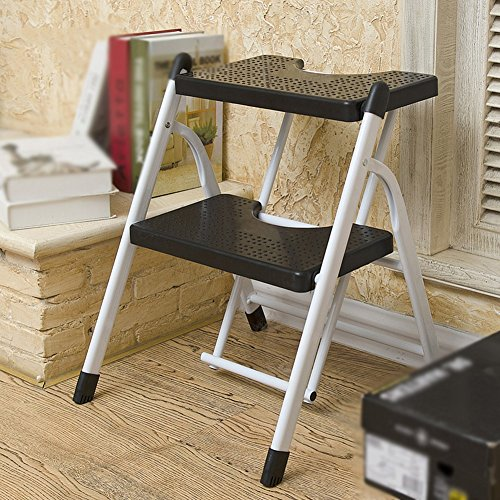 4 Step Ladder Household Chair Dual Use Indoor Four Steps 4