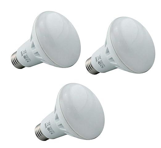 Supacell - Pilas AA LED R63 Reflector bombillas - paquete de 3 - E27/rosca