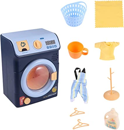 Mini Washing Machine Toys no branded Kid Toys Roleplay Toys Simulated Children Pretend Play Toys