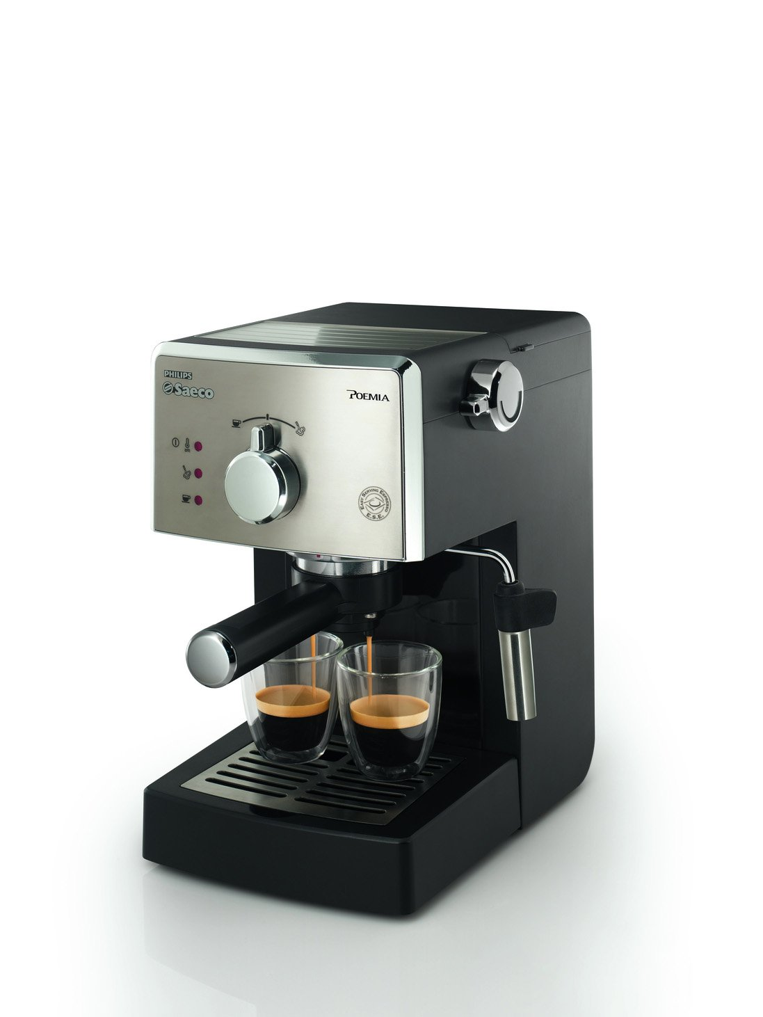 Amazon.com: Philips Saeco HD8327/47 Poemia Top Espresso Machine, Stainless Steel: Semi Automatic Pump Espresso Machines: Kitchen & Dining