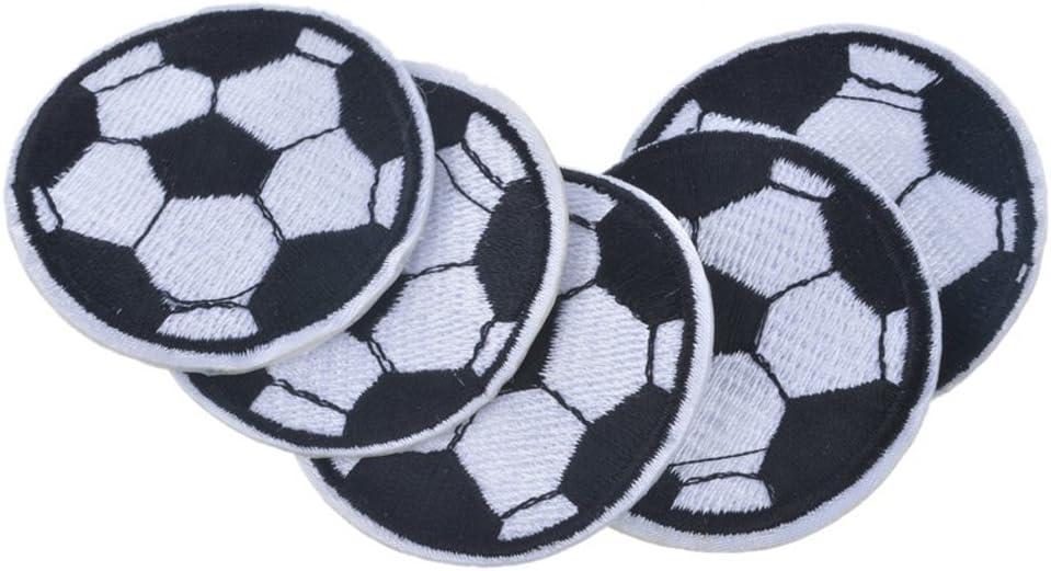huixun balón de fútbol parches bordados parches para ropa parches ...