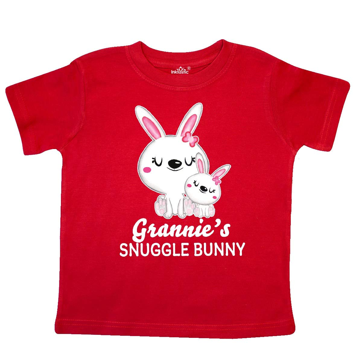 inktastic Grannies Snuggle Bunny Easter Toddler T-Shirt