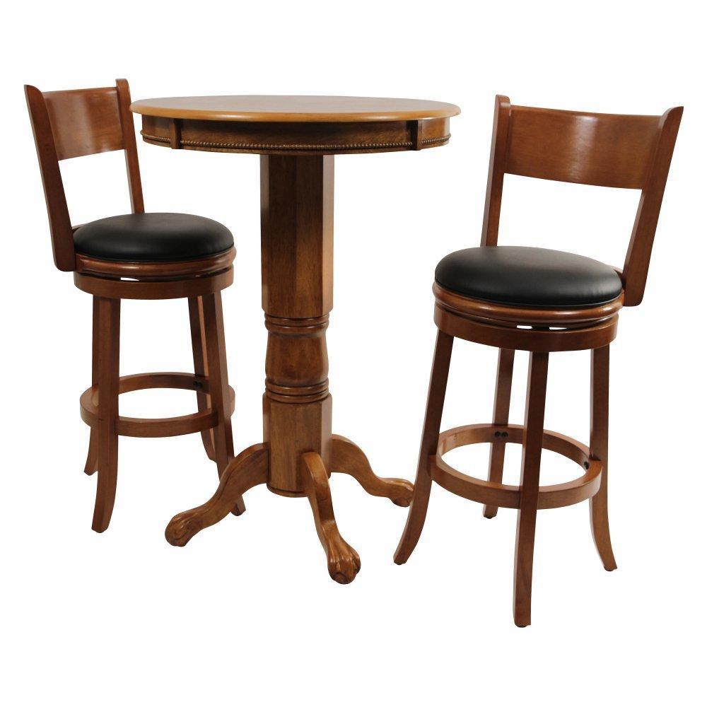 Boraam Palmetto 3 Piece Pub Table Set –