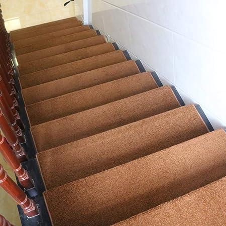 RPLW Antideslizante Almohadillas De Escalera Conjunto De 13, Espesar Suave Alfombras para Escaleras con Respaldo Autoadhesivo Lavable Protector De Escalera-f 75x24cm(30x9inch): Amazon.es: Hogar