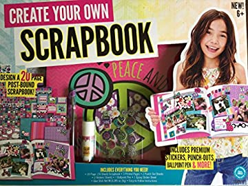 Enjoyable Amazon Com Create Your Own Scrapbook Kit Toys Games Hairstyles For Women Draintrainus