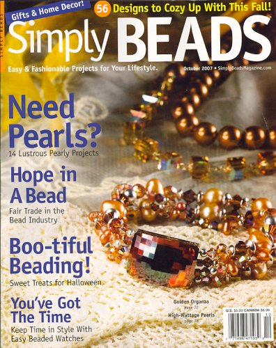 Simply Beads, October 2007 Issue