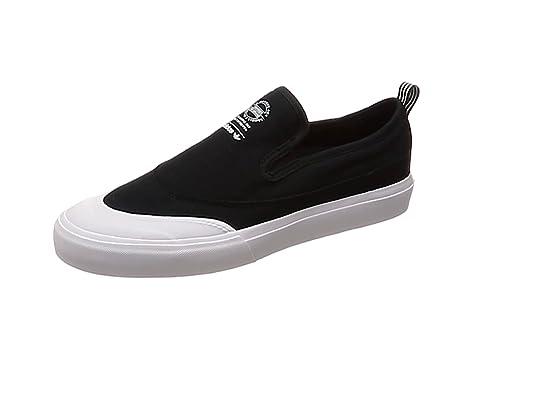 adidas Herren Matchcourt Slip Fitnessschuhe, SchwarzWeiß (Core Black White)