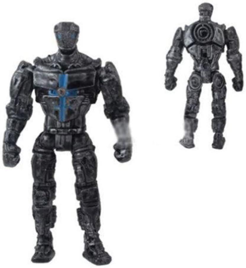 8pcs//Set Movie Real Steel Zeus Atom Midas Noisey Boys Action Figures Robot Toys