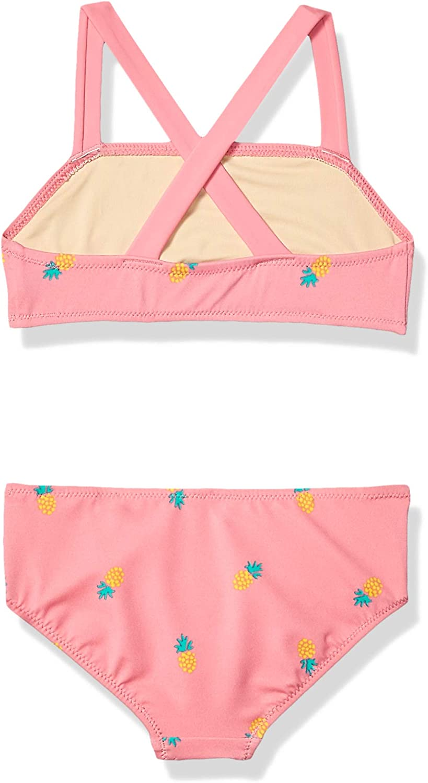 Pink Pineapple Essentials M/ädchen Bikini-Set 2-teilig 6-7 Jahre Herstellergr/ö/ße: US S Rosa