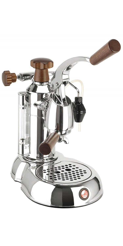 la Pavoni Stradivari STH Independiente Máquina espresso Cromo 0,8 L 8 tazas Semi-automática - Cafetera (Independiente, Máquina espresso, 0,8 L, De café ...