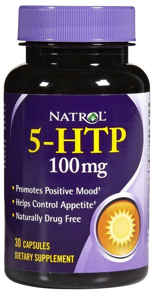 Natrol 5-HTP -- 100 mg - 30 Capsules (12 Pack)