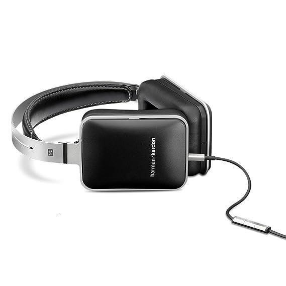 Harman Kardon NC - Auriculares supraurales con sistema de aislamiento de sonido, color negro: Amazon.es: Electrónica
