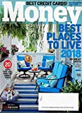Money Magazine October 2018 BEST PLACES TO LIVE 2018, BEST CREDIT CARDS