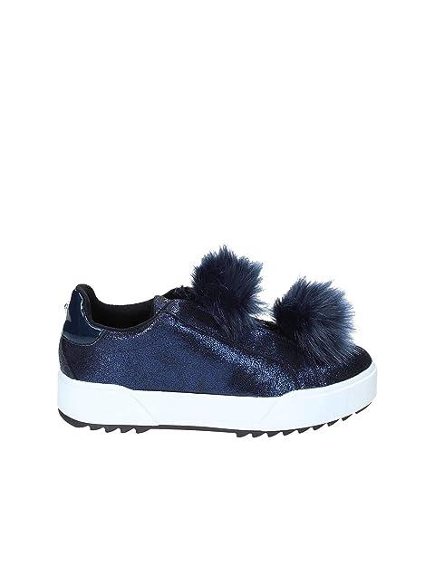 Apepazza HYB04 Sneakers Donna Blu 38  Amazon.it  Scarpe e borse 2518fb86b6b