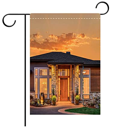 Amazon Com Beicici Garden Flag Double Sided Printing Beautiful