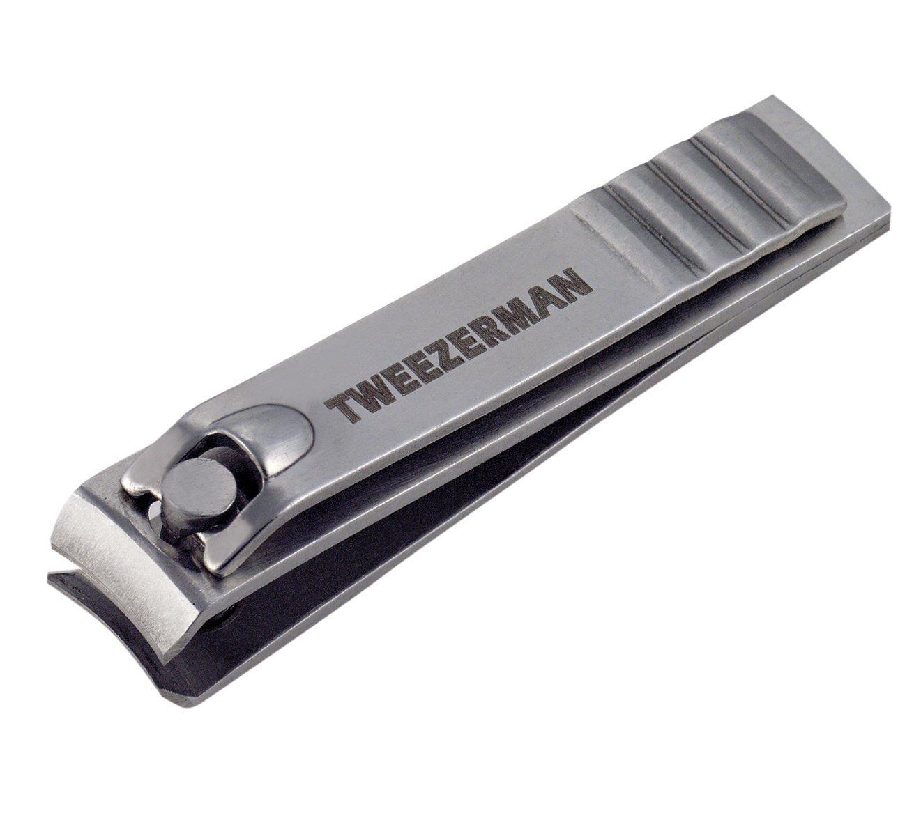 Tweezerman Fingernail Clipper, Stainless Steel 3013-P 6L-84HP-YFTM