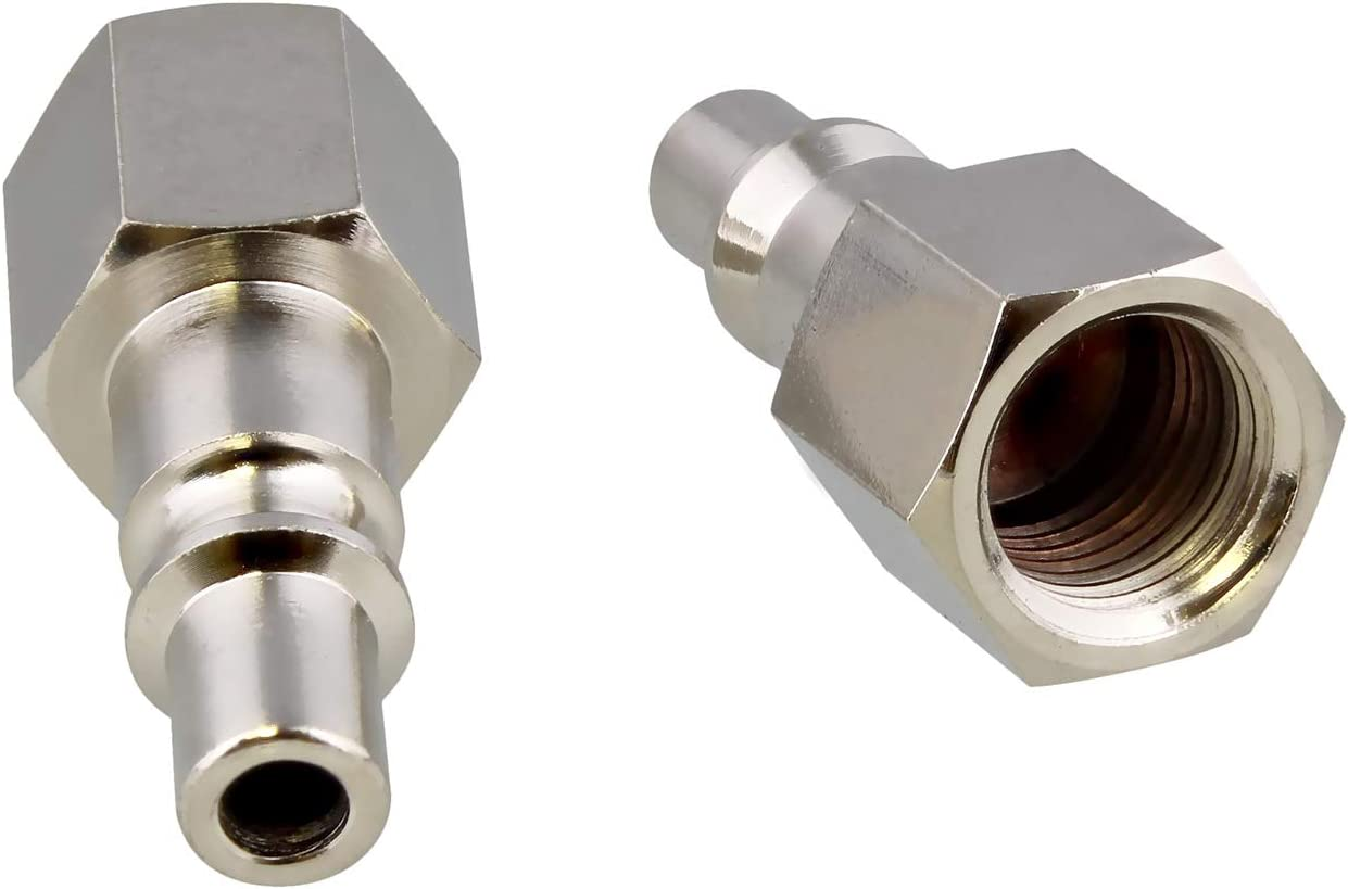 """1//4/"""" NPT Female Stainless Steel Air Quick Connect Coupler Air Line Hose Fittings"""