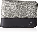 Quiksilver Men's Baffled Wallet, Black, One Size