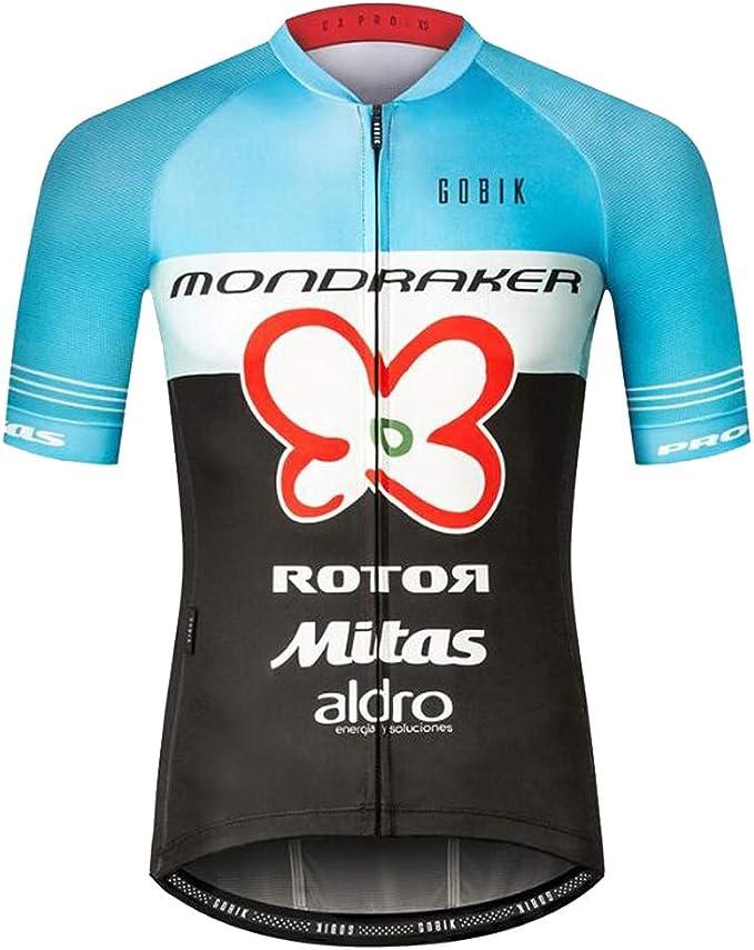 Qianliuk Profesional Reflectante Transpirable Ciclismo Jersey de ...