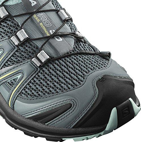 W Clair Salomon De Xa Femme Pro bleu Trail 3d Chaussures Clair Gris qBPwtBT