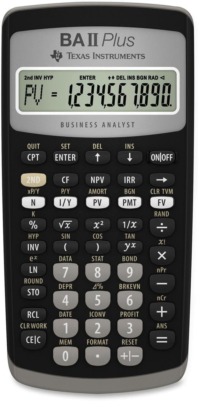 B00000JZKB Texas Instruments BA II Plus Financial Calculator 61trji1behL
