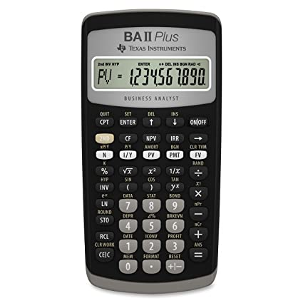 Texas Instrumental Ba Ii Plus Calculator Plus Low Price Office Equipment