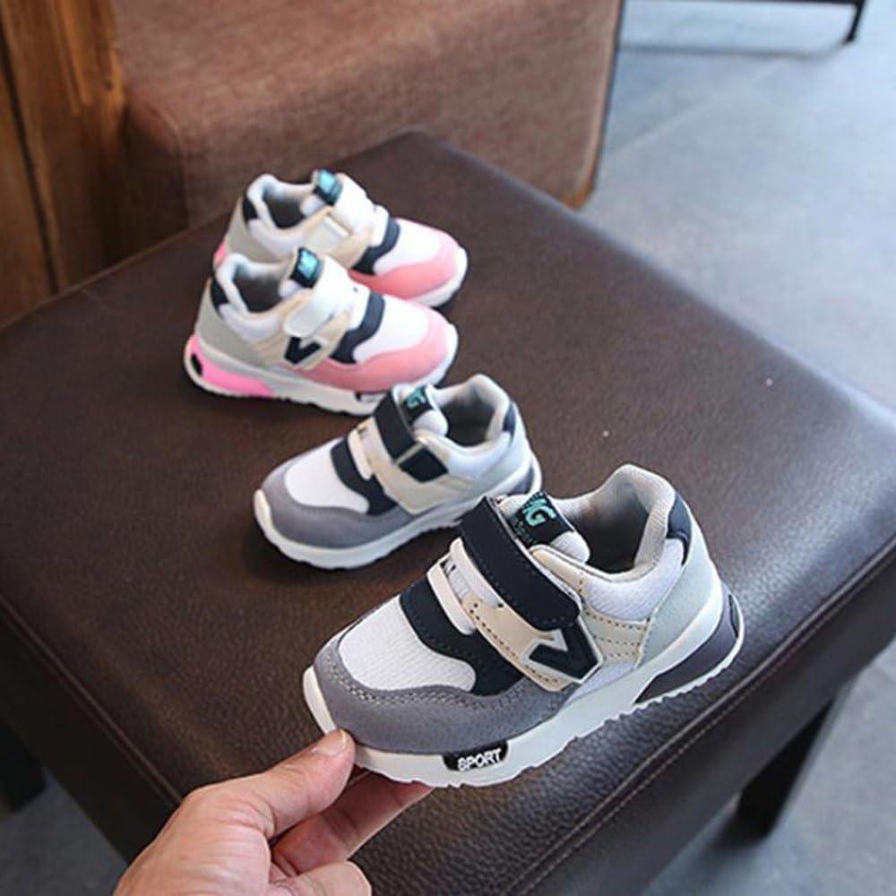 Oyedens Mode Unisex Enfants Baskets Gar/çons et Filles Respirant Chaussures de Sport Antid/érapantes Casual B/éb/é Chaussures De Course Outdoor Sneakers Enfant 6 Mois /à 9 Ans
