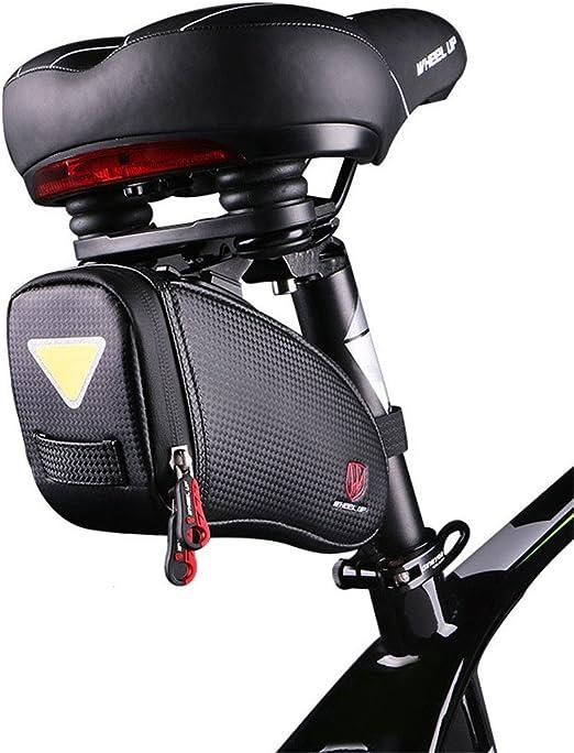 Sillín de bicicleta Bolsa de sillín de bicicleta, Bolsa de asiento ...