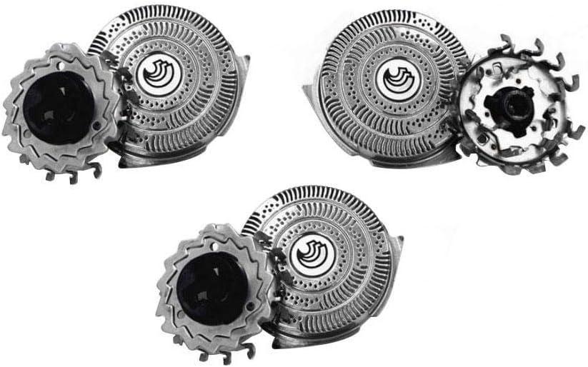 Philips Afeitadora eléctrica de repuesto para Philips HQ9080/HQ9090/HQ9070/PT920PT927 (3 unidades): Amazon.es: Hogar