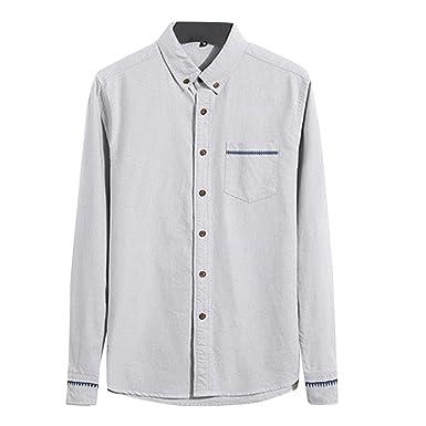 275e67c9fd772 FOMANSH ワイシャツ メンズ 長袖 ビジネスシャツ シャツ 夏 ボタンダウン 折襟 無地 綿 大きいサイズ M