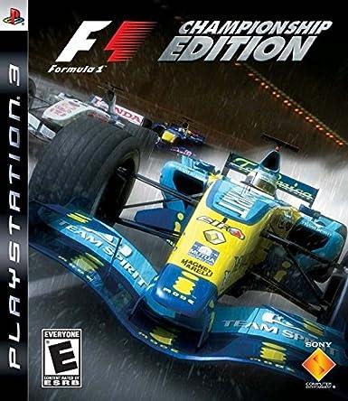 Sony Formula One Championship Edition PlayStation 3 vídeo - Juego (PlayStation 3, Racing, E (para todos), Studio ...