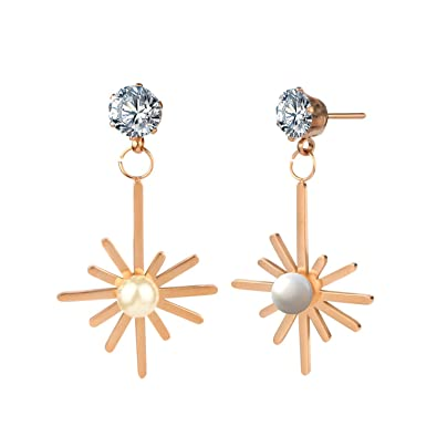 22ed5d2e2b2312 Image Unavailable. Image not available for. Color: Chibi-store long earrings  for women earing female bijoux fashion hanging ...
