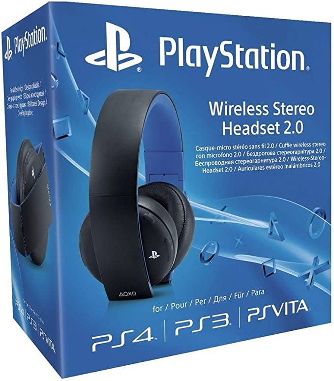 Sony - Auriculares Inalámbricos Stereo, Color Negro (PS4, PS3, PS ...