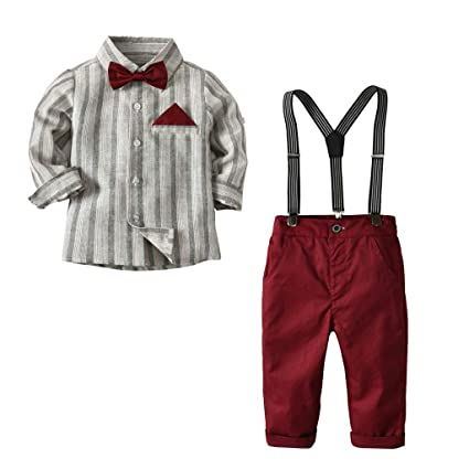 Cyhulu - Conjunto de trajes de boda para recién nacidos, 4 ...