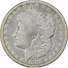 1893 CC Morgan Dollar VG (Very Good)