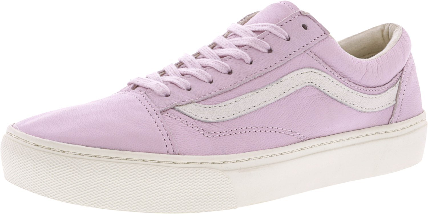 [バンズ] VANS OLD SKOOL B019NG95OS 7 D US Mens|(Leather) Lilac Snow