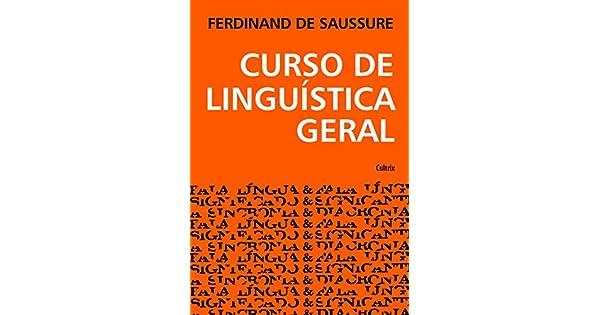 curso de linguistica geral saussure