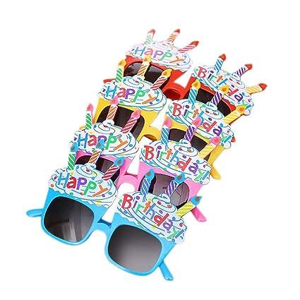 Amazon.com: BESTOYARD 4 piezas feliz cumpleaños fiesta gafas ...