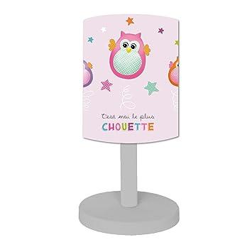 Lampe Titoutam Maison Chevet Chouette De FushiaCuisineamp; 0OnPwk